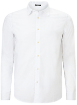 Denham Pack Shirt, Bone White