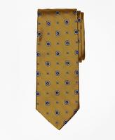 Brooks Brothers Herringbone Medallion Tie