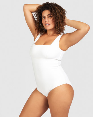SAINT SOMEBODY - Women's Black One-Piece Swimsuit - All The Right Places - Size One Size, 14 at The Iconic