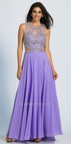 Dave and Johnny Enchanting A-line Cutout Embellished Prom Dress