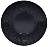 Noritake Black on Black Swirl Saucer