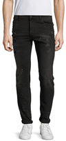 Marcelo Burlon County of Milan Distressed Slim Fit Jeans