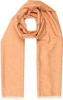 Loro Piana Cashmere Raw-Edge Scarf