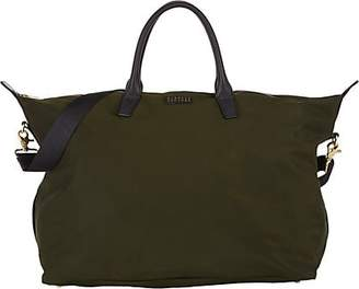 Barneys New York Men's Medium Weekender Bag - Dk. Green