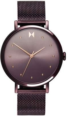 MVMT Dot Vibe Stainless Steel Mesh Bracelet Watch