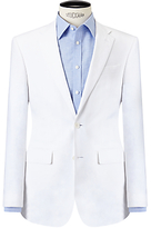 John Lewis Linen Regular Fit Suit Jacket, White