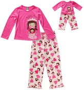 "Dollie & Me Girls 4-14 Sparkly ""Pajama Princess"" Pajama Set"