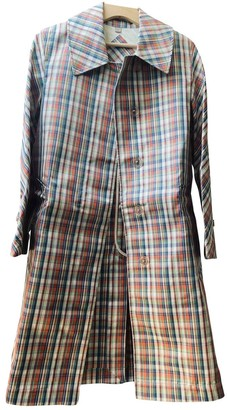 Burberry Multicolour Silk Trench Coat for Women