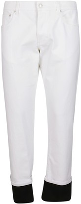 Alexander McQueen Straight Leg Jeans