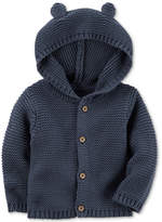 Carter's Hooded Ears Cotton Cardigan, Baby Boys