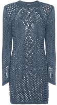 Balmain Knitted cotton dress