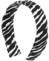 Charlotte Russe Zebra Ribbon Headband