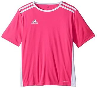 Adidas Originals Kids Entrada 18 Jersey (Little Kids/Big Kids) (Solar Yellow/White) Boy's T Shirt