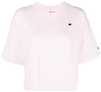 Champion cropped crewneck T-shirt
