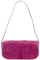 Nancy Gonzalez Small Crocodile Shoulder Bag