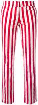 Dondup vertical stripe trousers - women - Cotton/Spandex/Elastane - 40