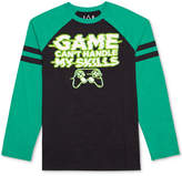 JEM Graphic-Print Raglan Shirt, Big Boys (8-20)