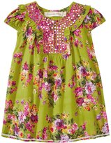 Cupcakes & Pastries Cupcakes & Pasteries Tunic Dress (Baby) - Lime Floral - 18-24 Months