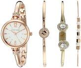 Anne Klein Women's AK/2338RGST Analog Japanese Quartz Rose Gold Watch
