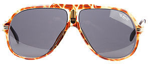 Vintage Sunglasses Replay The Alas Aviator Sunglasses in Tortoise Shell and Brown