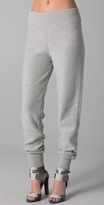 Alexander Wang Cotton Knit Sweatpants
