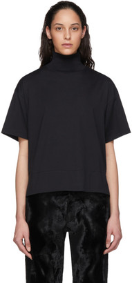 Acne Studios Black High Neck T-Shirt