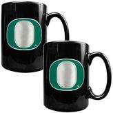 Oregon Ducks 2-pc. Ceramic Mug Set