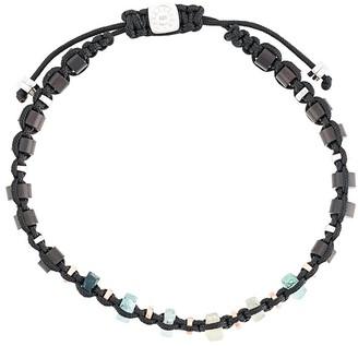Tateossian Imperial macrame bracelet