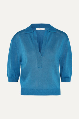 Tibi Knitted Sweater - Blue