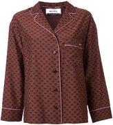 Muveil chest pocket shirt - women - Cotton/Cupro - 36