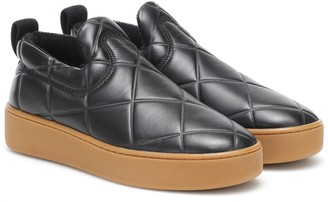 Bottega Veneta Slip On leather sneakers