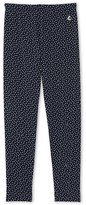 Petit Bateau Girls polka dot leggings