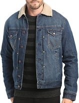 Wrangler Sherpa Fleece Lined Denim Jacket