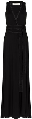 Golden Goose Cleopatra maxi belted dress