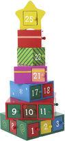 Kurt Adler Wooden Gift Tree Advent Calendar