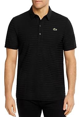 Lacoste Striped Jacquard Polo Shirt