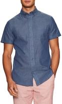 Slate & Stone Cotton Floral Print Sportshirt