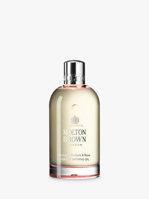 Molton Brown Delicious Rhubarb & Rose Vibrant Bathing Oil, 200ml