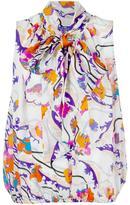 Emilio Pucci floral print blouse - women - Silk - 44