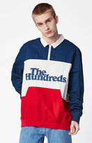 The Hundreds Olympia Colorblock Long Sleeve Polo Shirt