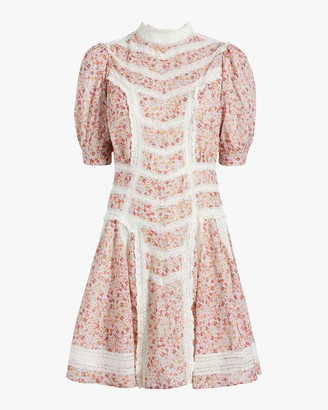 By Ti Mo Victorian Mini Dress