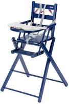 Combelle Varnished Extra Folding High Chair