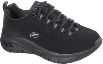 Skechers Arch Fit Metro Skyline Trainers - Black