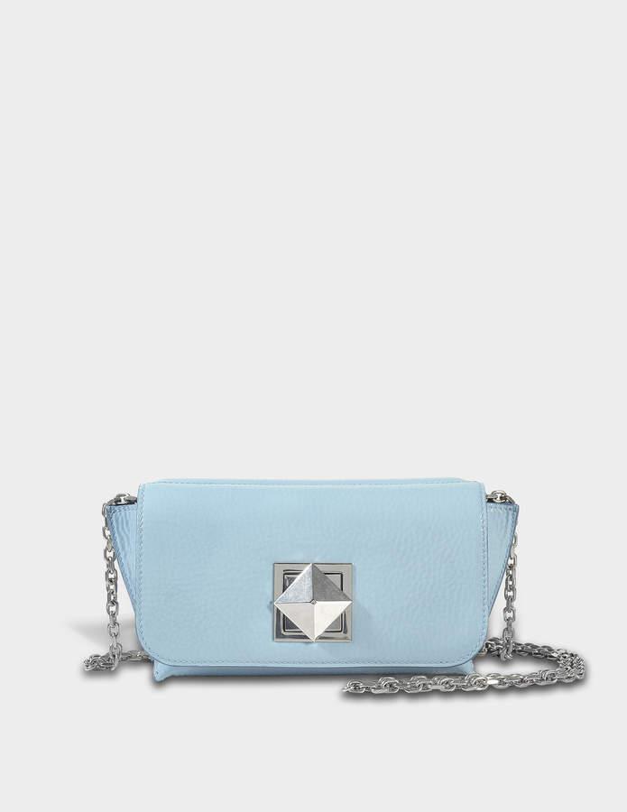 Sonia Rykiel Le Copain Medium Bag in Azur Patent Cow Skin