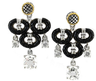 Candela Andrea Lucero 18K & Silver 2.77 Ct. Tw. Gemstone Earrings