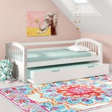 Isa Belle Isabelle Cameron Twin Daybed with Trundle Viv + Rae Color: White