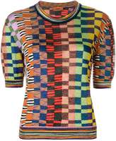 Missoni checked knit T-shirt