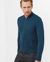 Ted Baker Quilted jersey bomber jacket