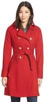 GUESS Women's Wool Blend Trench Coat