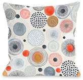 Amy Navy Multi Decorative Pillow by OBC